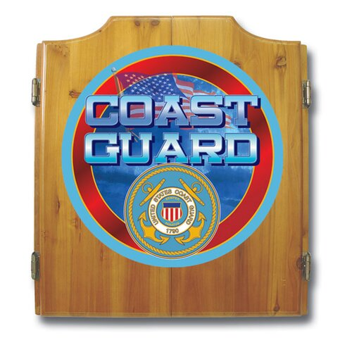 US Coast Guard Dart Cabinet Set