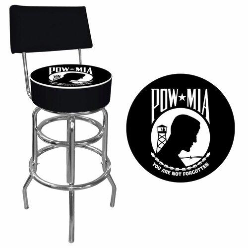 POW Swivel Bar Stool