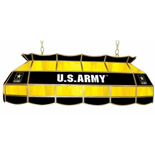 U.S. Army 3 Light Tiffany Billiard Light
