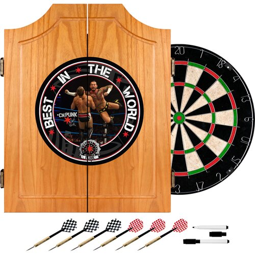 WWE Dart Cabinet Set