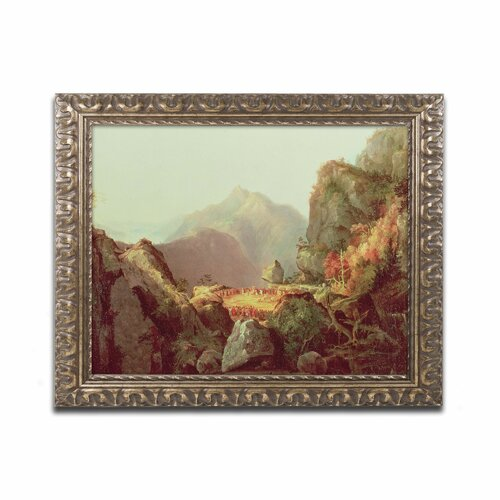 'The Last of the Mohicans' by James Cooper Ornate Framed Art