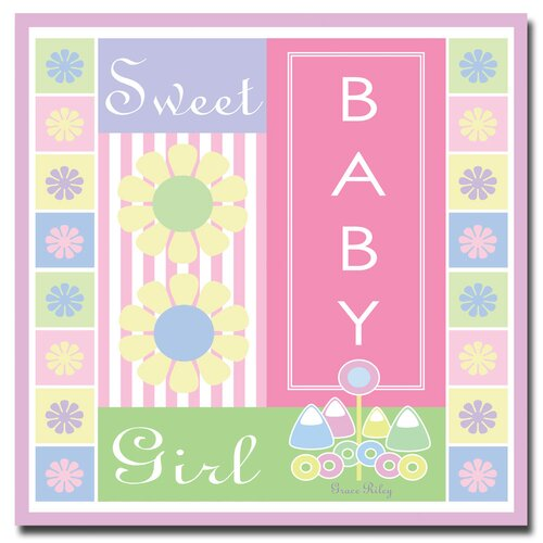 'Sweet Baby Girl' Canvas Art