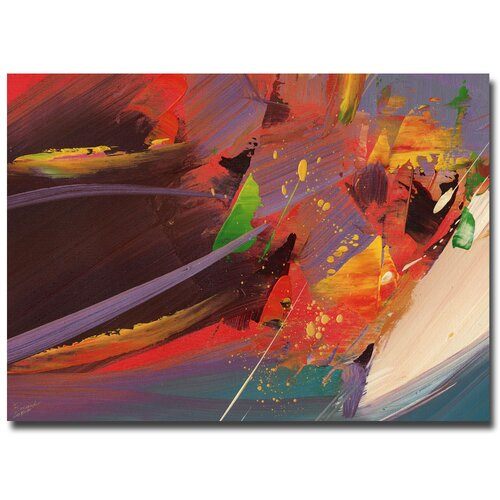 'Splash' by Ricardo Tapia Painting Print on Canvas