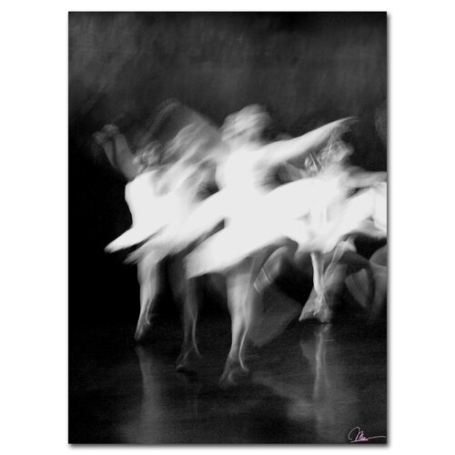'Dancers' by Martha Guerra Photographic Print on Canvas