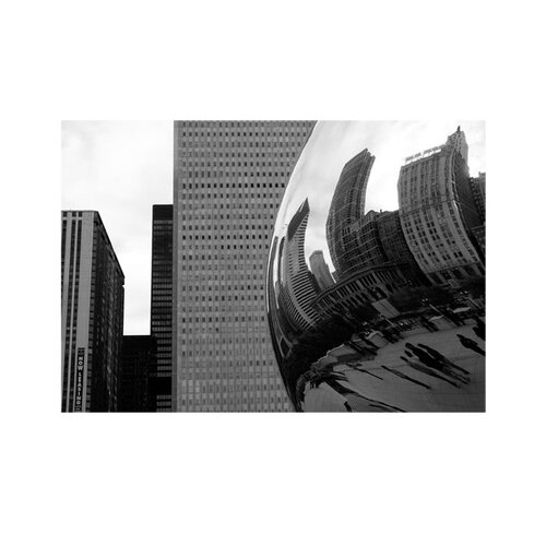 'Elastic Skyline' by Yale Gurney Photographic Print on Canvas