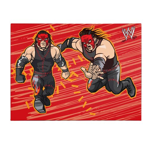 WWE Kane Kids Canvas Art