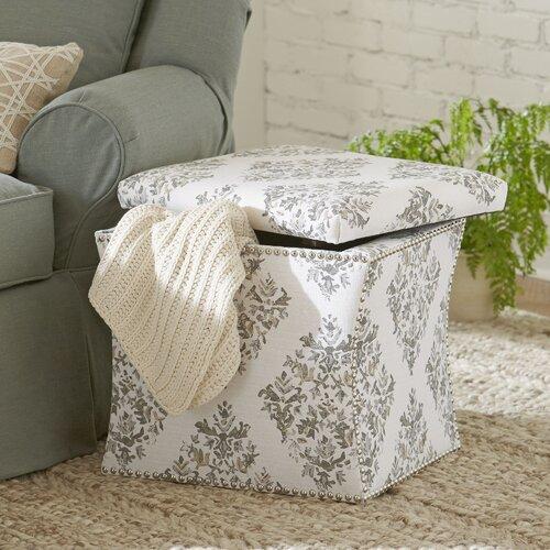 Paige Upholstered Storage Ottoman