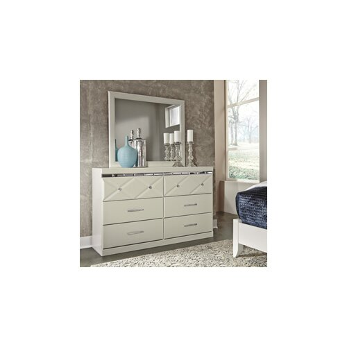 Signature Design By Ashley 6 Drawer Dresser With Mirror Reviews