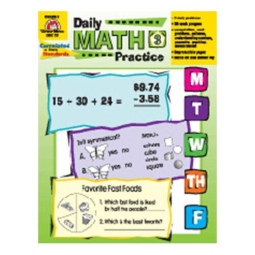 Evan Moor Daily Math Practice Kindergarten evan moor daily math – Daily Math Practice Worksheets