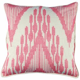 Ikat Heartbeat Pillow