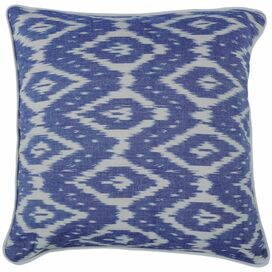 Ikat Diamond Pillow