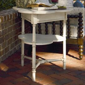 Lemonade Stand Accent Table in Cream