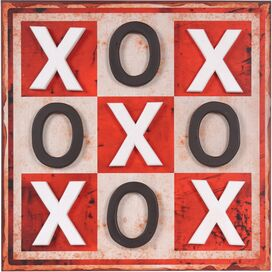Tic Tac Toe Wall Art