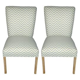 Julia Accent Chair in Mist (Set of 2)