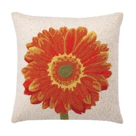 Orange Gerbera Pillow