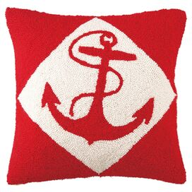 Starboard Pillow III in Red
