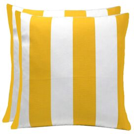 Canopy Pillow in Yellow (Set of 2)
