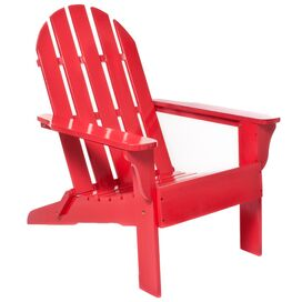 Adirondack Chair in Red