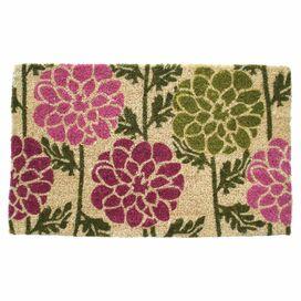 Dahlias Doormat