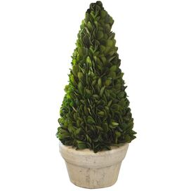 Silk Boxwood Topiary