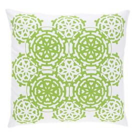 Mosaic Pillow in Green
