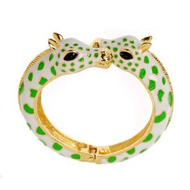 Giraffe Bracelet in Green