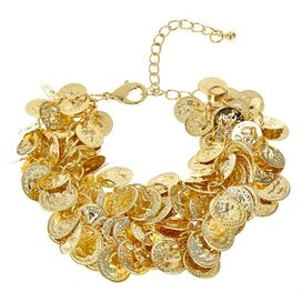 Treasure Bracelet in Gold