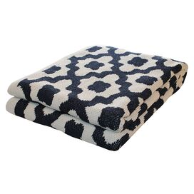 Andalusia Throw in Marine