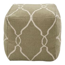 Lelite Pouf in Green