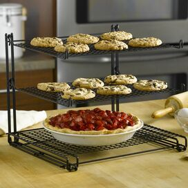 3 tiered cooling rack