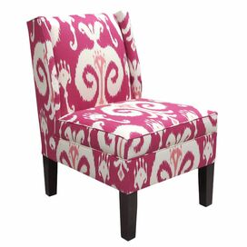 Ikat Wingback Chair