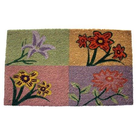 Quatre Fleurs Doormat