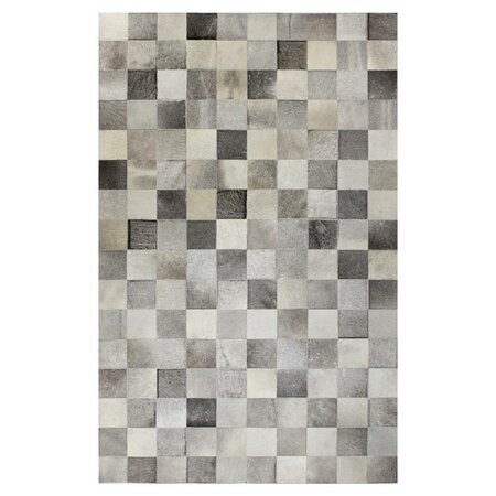 Coolidge Cowhide Rug in Grey
