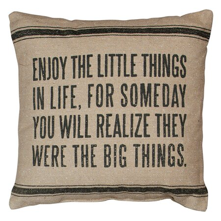 Little Things Pillow II