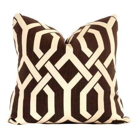 Chocolate Brown Pillow