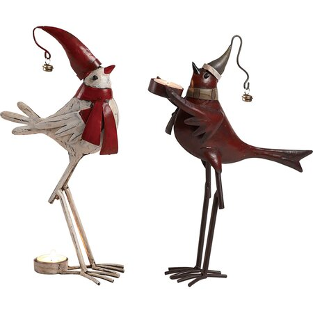 2 peças Pássaro Set Décor presente