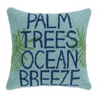 Birds Of Paradise Embroidered Pillow By Tommy Bahama