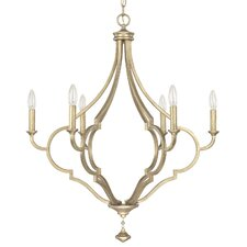 Quinn 6 Light Candle Chandelier