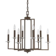 Morgan 8 Light Mini Chandelier