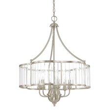 Hamilton 6 Light Candle Chandelier