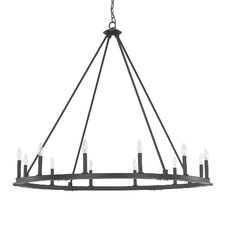 Pearson 12 Light Candle Chandelier