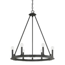 Pearson 6 Light Candle Chandelier