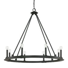 Pearson 8 Light Candle Chandelier