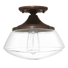 1 Light Semi Flush Mount