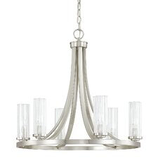 Emery 6 Light Candle Chandelier