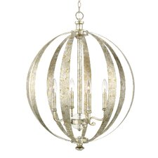 Charleston 4 Light Globe Pendant