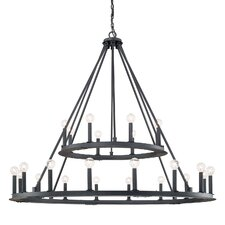 Pearson 24 Light Candle Chandelier