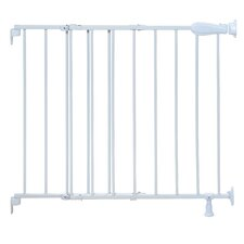 Slide and Lock Top of Stairs Metal Gate