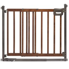 Step To Secure Wood Walk-Thru Gate
