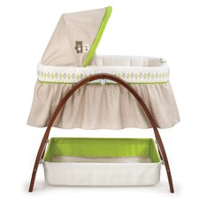 Bentwood Bassinet with Motion
